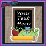 SCHOOL TEACHER GIFT PERSONALISED JUTE SHOPPING BAG 006